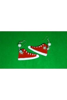 Σκουλαρίκια καρφωτά κρεμαστά παπούτσια