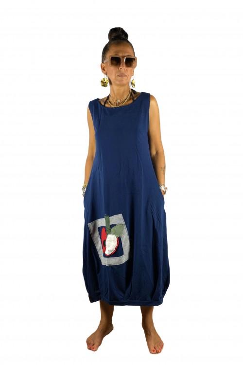 Midi Φόρεμα μηλαράκι