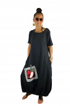 Maxi Φόρεμα μηλαράκι
